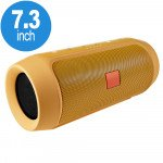 Loud Sound Portable Bluetooth Speaker with Power Bank Feature H3-B (Gold)