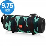 Carry to Go Large Drum Design Portable Bluetooth Speaker with Phone Holder E66 (Camouflage)