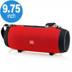 Wholesale Carry to Go Large Drum Design Portable Bluetooth Speaker with Phone Holder E66 (Red)