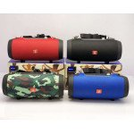 Wholesale Carry to Go Large Drum Design Portable Bluetooth Speaker with Phone Holder E66 (Blue)