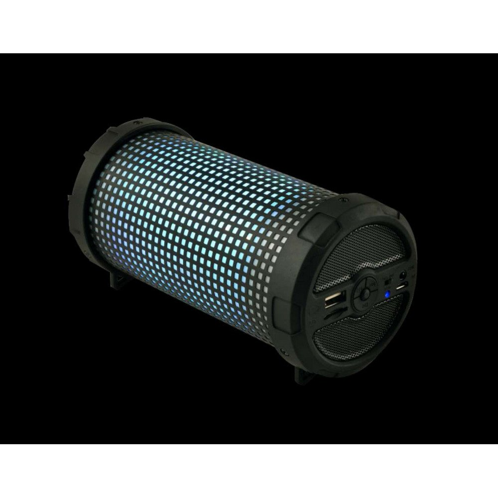 Wholesale LED Light Outdoor Bazooka Style Bluetooth Speaker MHS002 LED (Black