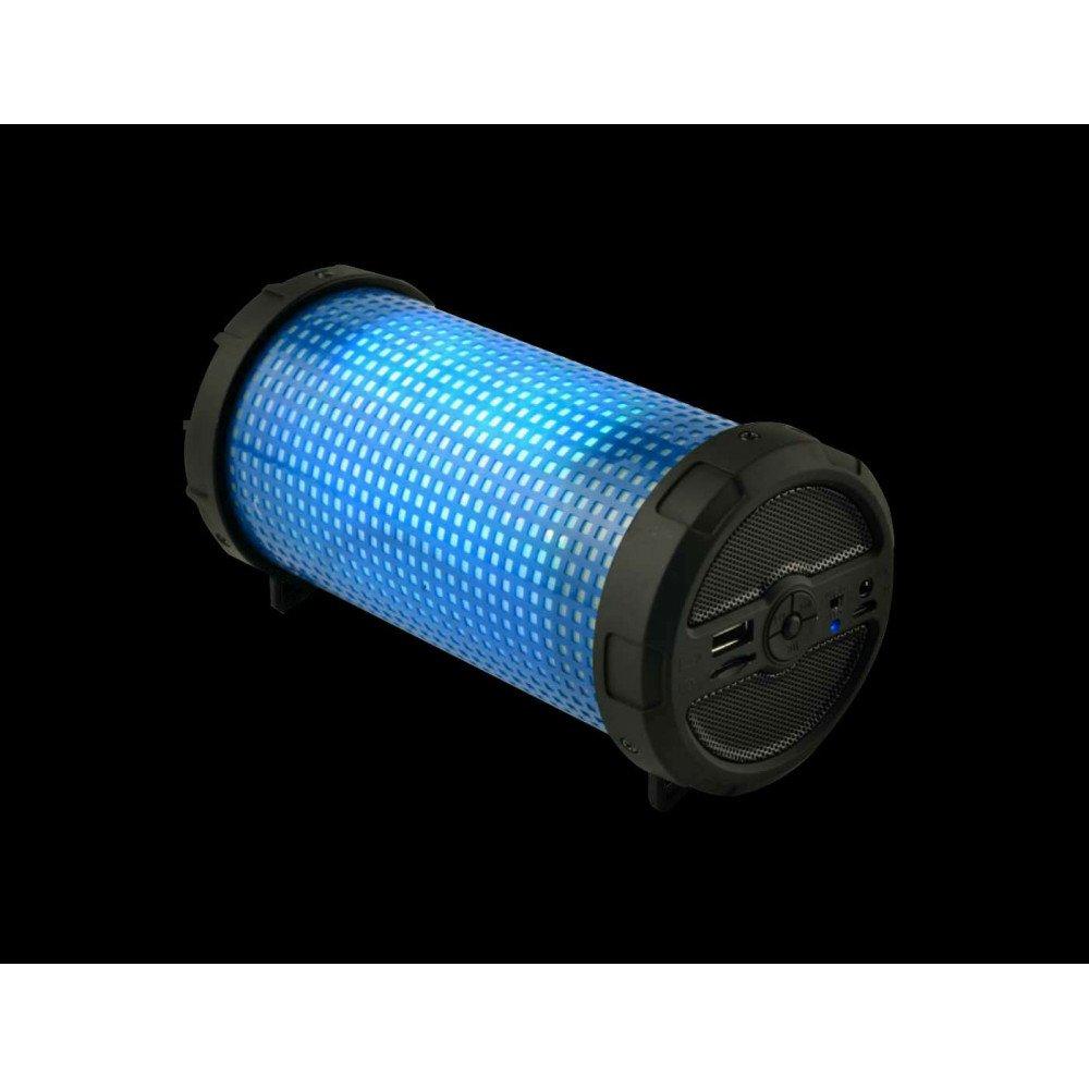 Wholesale LED Light Outdoor Bazooka Style Bluetooth Speaker MHS002 LED (Blue