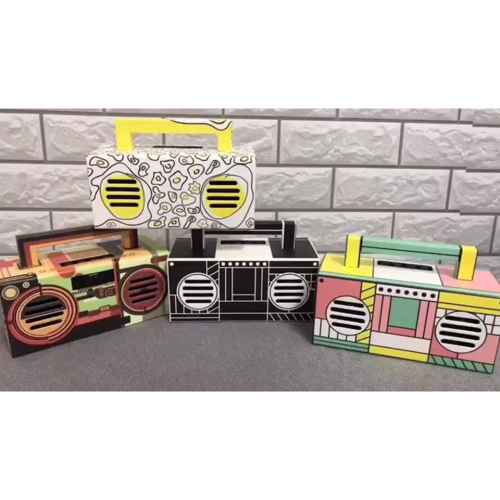 Boombox With Sub Design