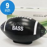 American Football Design Style Portable Bluetooth Speaker Q330 (Black)