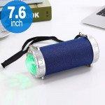Disco Beam LED Light Projector Portable Bluetooth Speaker S07 (Blue)