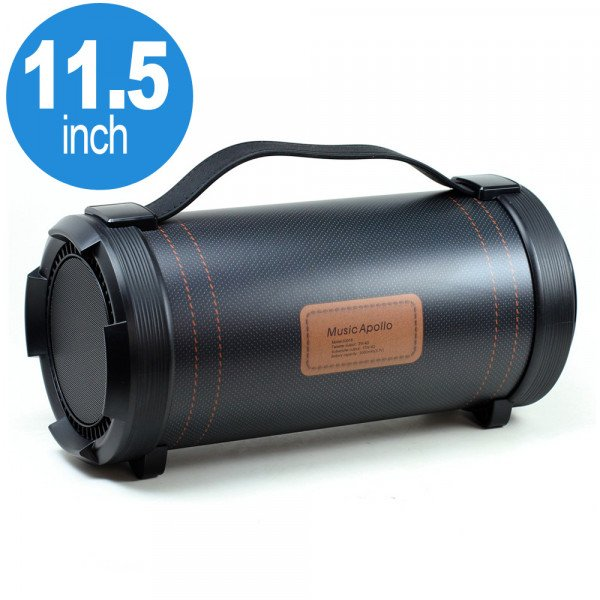 Wholesale Super Loud Heavy Sound Portable Bluetooth Speaker with EQ Switch S3018 (Black)