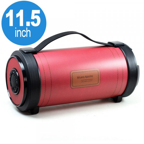 Wholesale Super Loud Heavy Sound Portable Bluetooth Speaker with EQ Switch S3018 (Red)