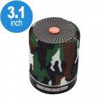Round Shape Active Portable Bluetooth Speaker TG-511 (Camo)