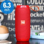 High Sound Extreme Portable Bluetooth Speaker with Carry Strap TG106 (Red)