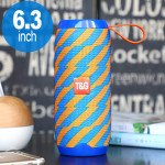 High Sound Extreme Portable Bluetooth Speaker with Carry Strap TG106 (Orange Blue)