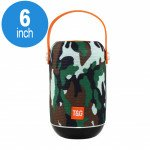 Extreme Sound Round Portable Bluetooth Speaker with Handle Strap TG107 (Camo)