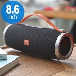 Extreme Drum Style Portable Bluetooth Speaker with Handle Strap TG109 (Black)