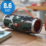 Extreme Drum Style Portable Bluetooth Speaker with Handle Strap TG109 (Camo)