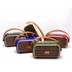 Wholesale Retro Boom Box Radio Style Portable Bluetooth Speaker X26 (Red)