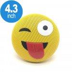 Emoji Loud Sound Portable Bluetooth Speaker with Strap YM-032 (Tongue)