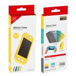 Wholesale Shock-Absorption and Anti-Scratch Design Protective Case for Nintendo Switch Lite (Silicone Dark Gray)