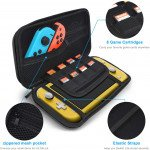 Wholesale Slim Compact Carrying Case with Game Card, Micro SD Slot Storage, Accessories for Nintendo Switch Lite (Black)