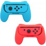 Wholesale 2 Pack Wear Resistant Joy-Con Controller Hand Grip for Nintendo Switch Joy-Con (Blue-Red)