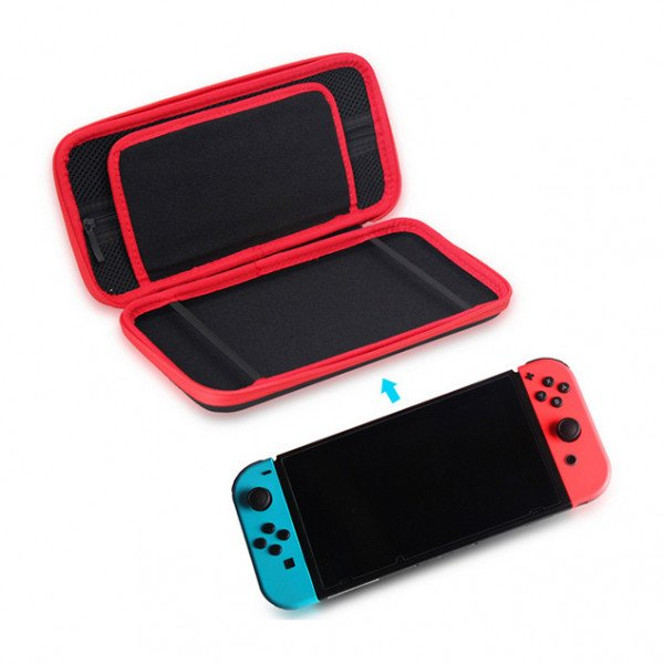 Wholesale Protective Hard Portable Travel Carry Case Shell Pouch for Nintendo Switch Console & Accessories (Black)