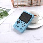 500 in 1 Retro Classic Game Box Portable Handheld Game Console Built-in Classic Games (Blue)