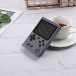 500 in 1 Retro Classic Game Box Portable Handheld Game Console Built-in Classic Games (Gray)