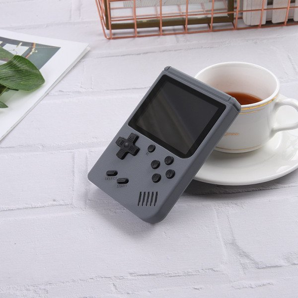 Wholesale 500 in 1 Retro Classic Game Box Portable Handheld Game Console Built-in Classic Games (Gray)