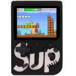 Wholesale Retro Classic SUP Game Box Portable Handheld Game Console Built-in 400 Classic Games (White)