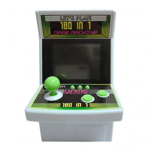 Wholesale Large 2.8 inch Screen Colorful Portable Retro Game Arcade Game Console Machine (Green)