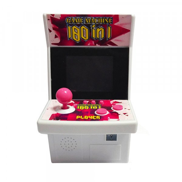 Wholesale Large 2.8 inch Screen Colorful Portable Retro Game Arcade Game Console Machine (Red)