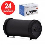 24pc Lot of Outdoor Bazooka Style Portable Bluetooth Speaker MHS002 - Black Only - Box Deal