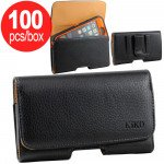 Wholesale 100pc Lot of Galaxy Note 4 Horizontal Deluxe Full Belt Clip Pouch Full - Box Deal