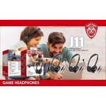 Wholesale HD Wired Gaming Headphone with Microphone Good for Adults Children Work Home School for Universal Cell Phones, Laptop, Tablet, and More (Black)