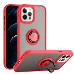 Tuff Slim Armor Hybrid Ring Stand Case for Apple iPhone 13 Pro [6.1] (Red)