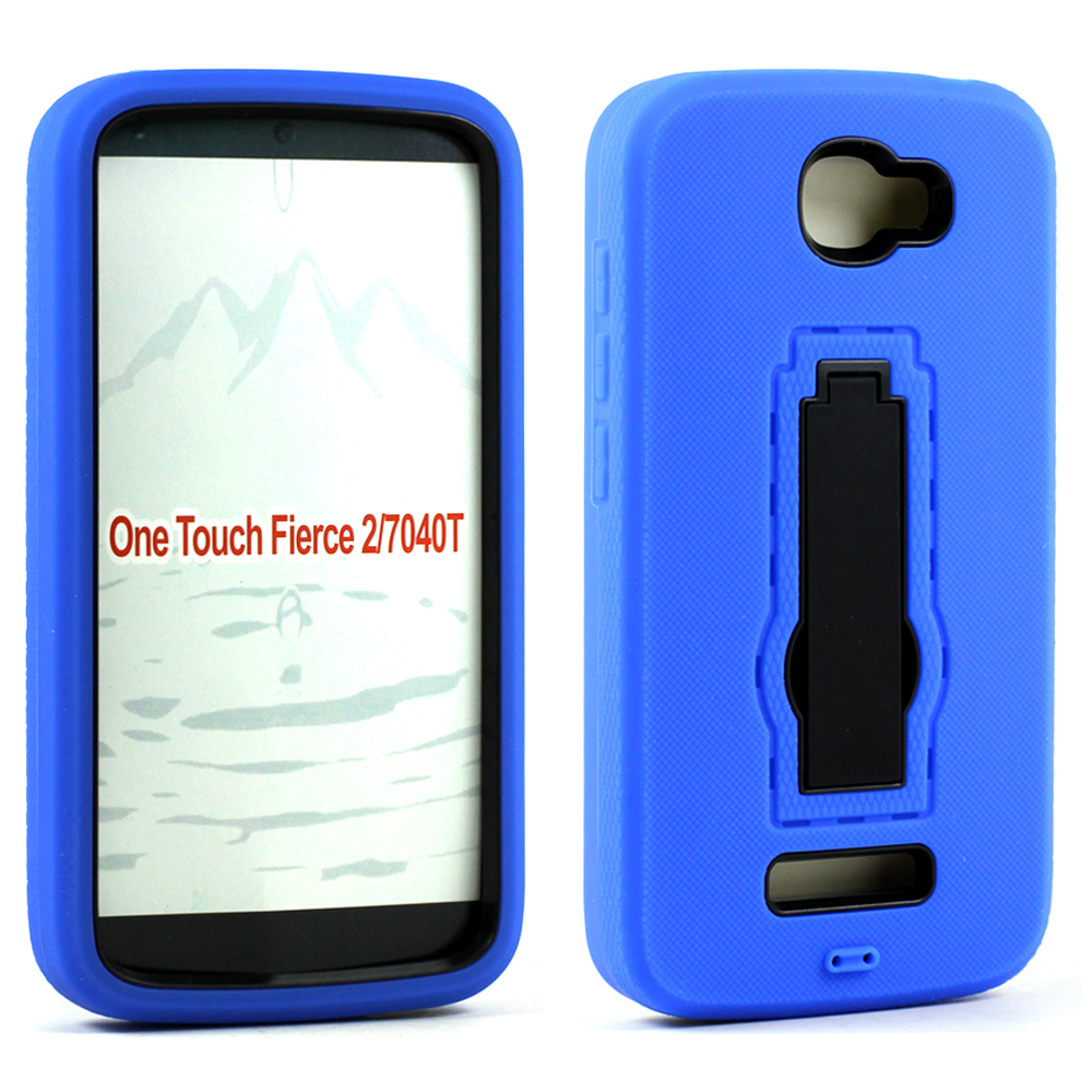 sneakers for cheap 86124 bff2d Wholesale Alcatel One Touch Fierce 2 7040 Armor Hybrid Kickstand ...
