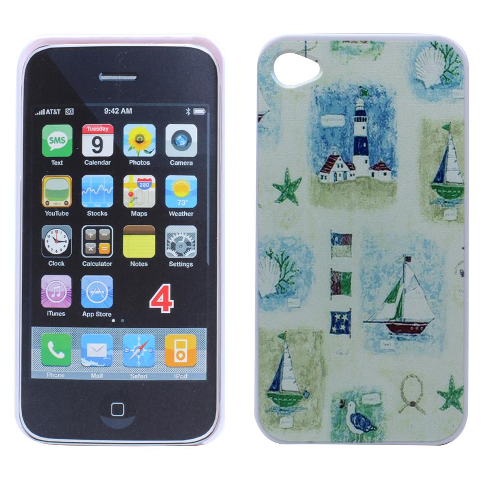 Wholesale iPhone 4 4S Light House Design Hard Case (Light