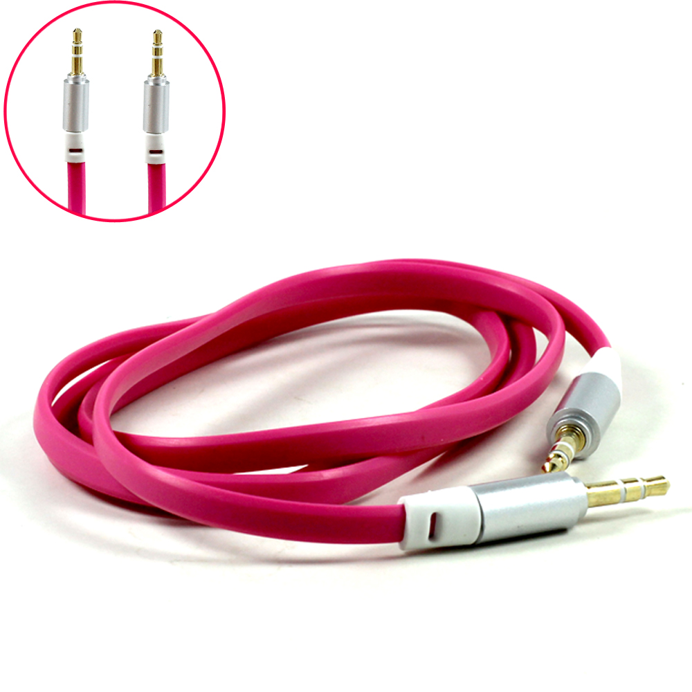 Wholesale Auxiliary Music Cable 3.5mm to 3.5mm Flat Wire Cable (Hot ...