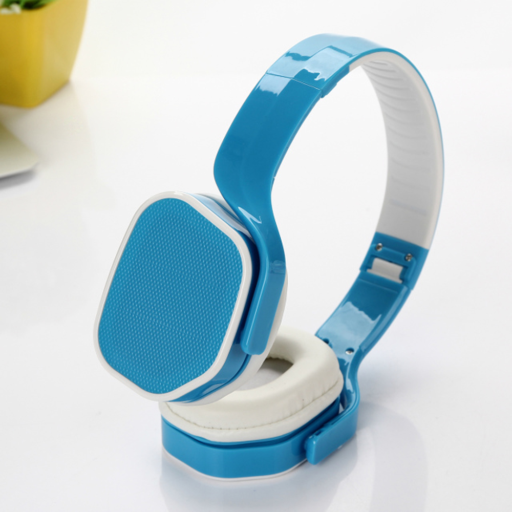 Wholesale High Quality Stereo Headphone with Mic TV09 (Blue)