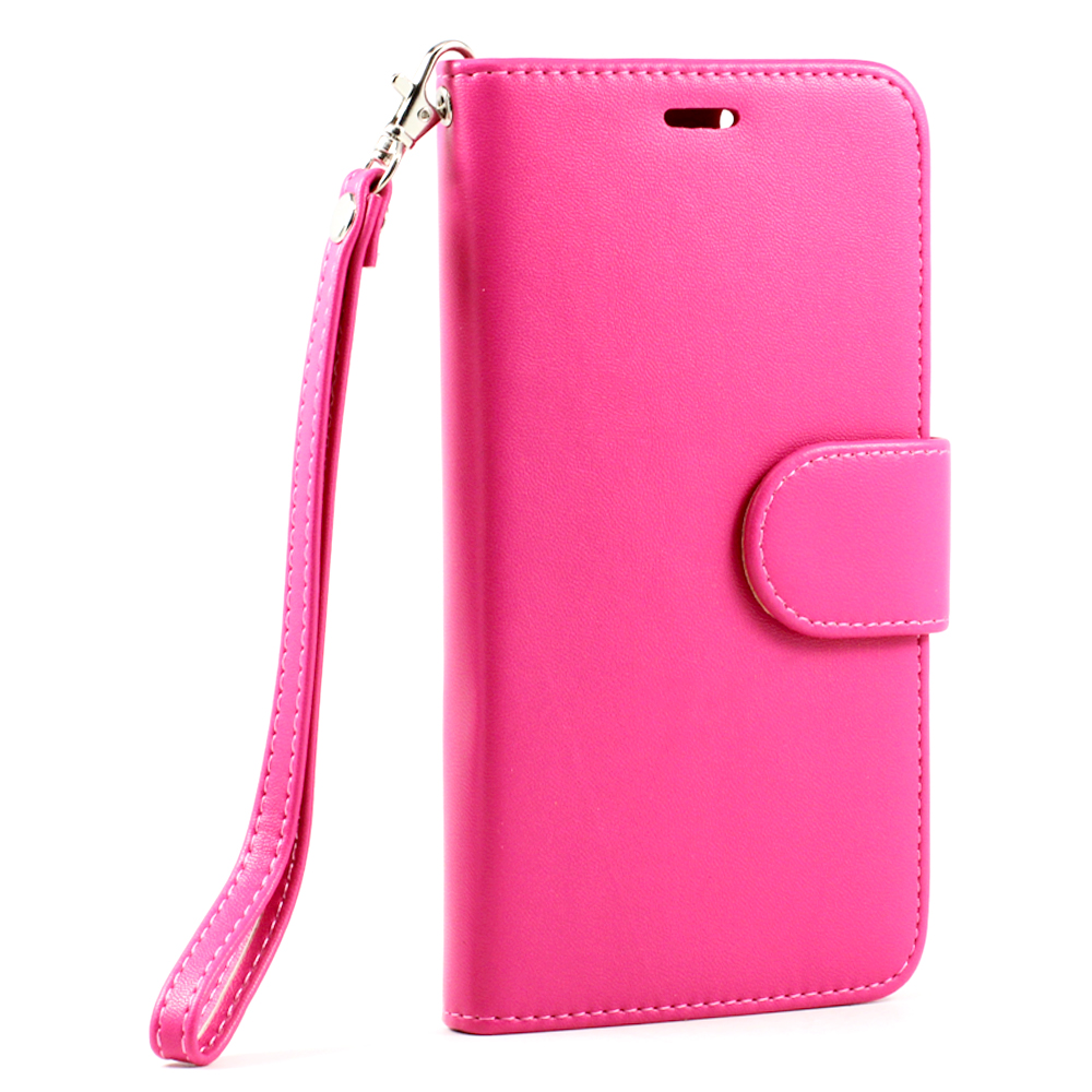 Pink Leather Iphone Case