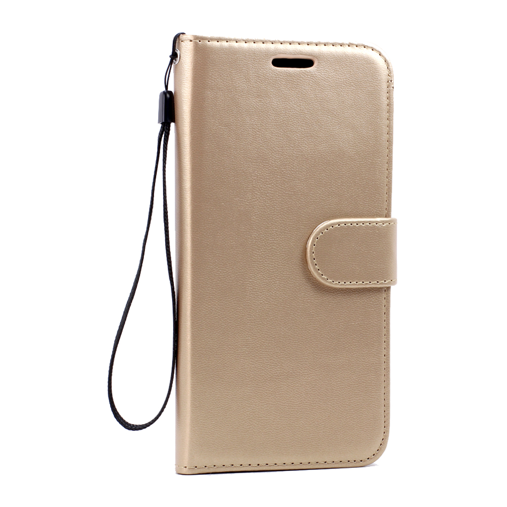 uk availability 2d230 ed741 Wholesale Galaxy S6 Edge Premium Flip Leather Wallet Case with Strap ...