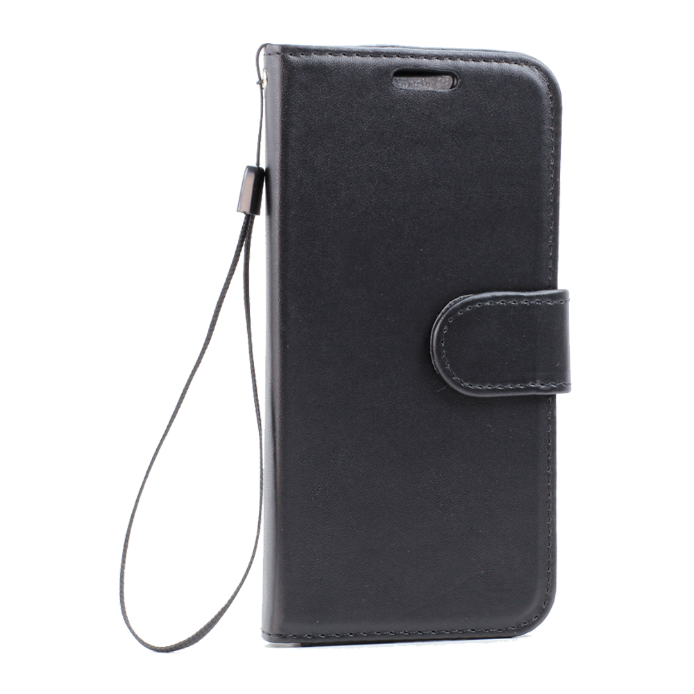 timeless design 20994 a4377 Wholesale Galaxy S7 Edge Folio Flip Leather Wallet Case with Strap ...