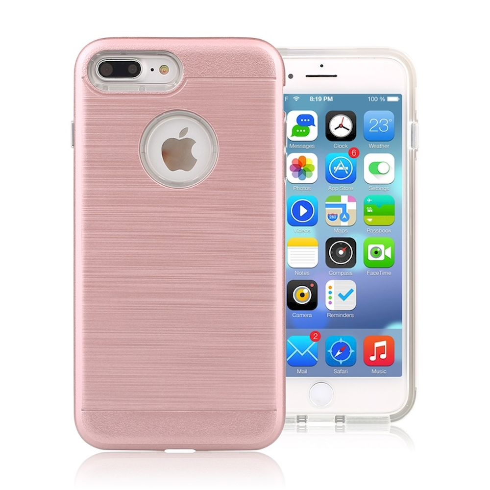 wholesale iphone 7 plus hard armor hybrid case rose gold. Black Bedroom Furniture Sets. Home Design Ideas