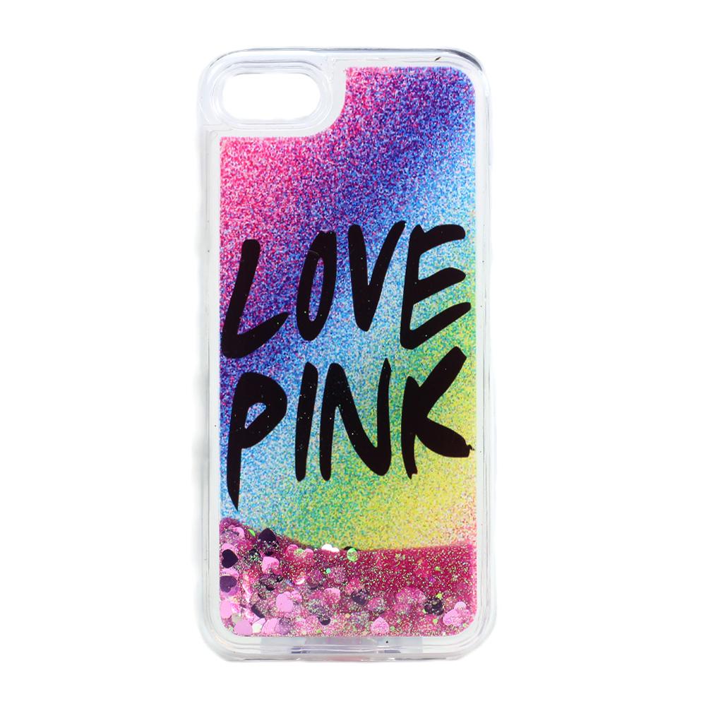 Wholesale Iphone 7 Design Glitter Liquid Star Dust Clear