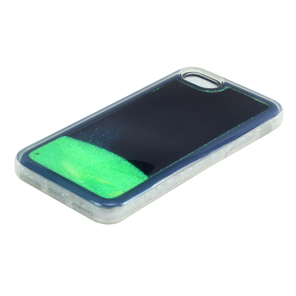 best authentic 146e9 c5572 Wholesale iPhone 7 Plus Glow In the Dark Liquid Star Dust Case (Green)