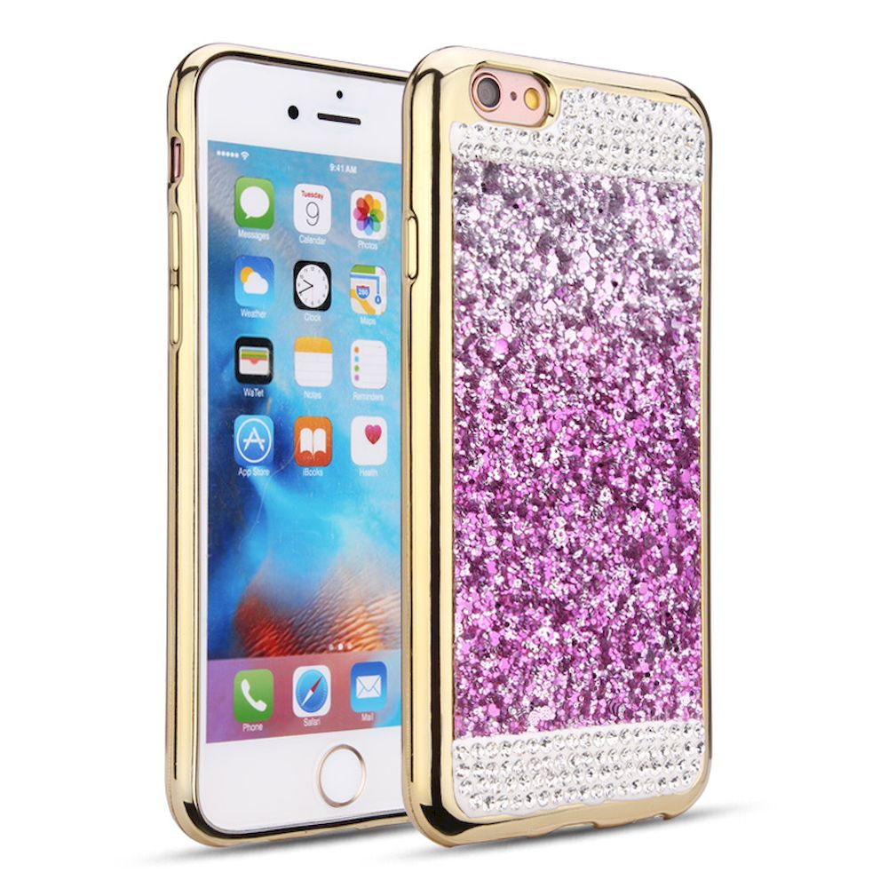new styles dff2c 8fd65 Wholesale iPhone 7 Plus Diamond Glitter Case (Purple)