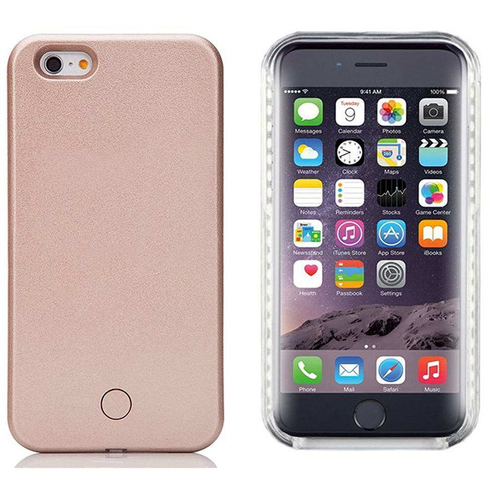 reputable site ed89f 22d60 Wholesale iPhone 8 / 7 Selfie Illuminated LED Light Case (Rose Gold)