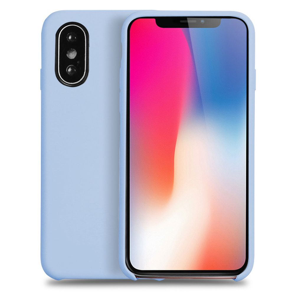 best website cf1e3 5a714 Wholesale iPhone Xs / X (Ten) Pro Silicone Hard Case (Sky Blue)