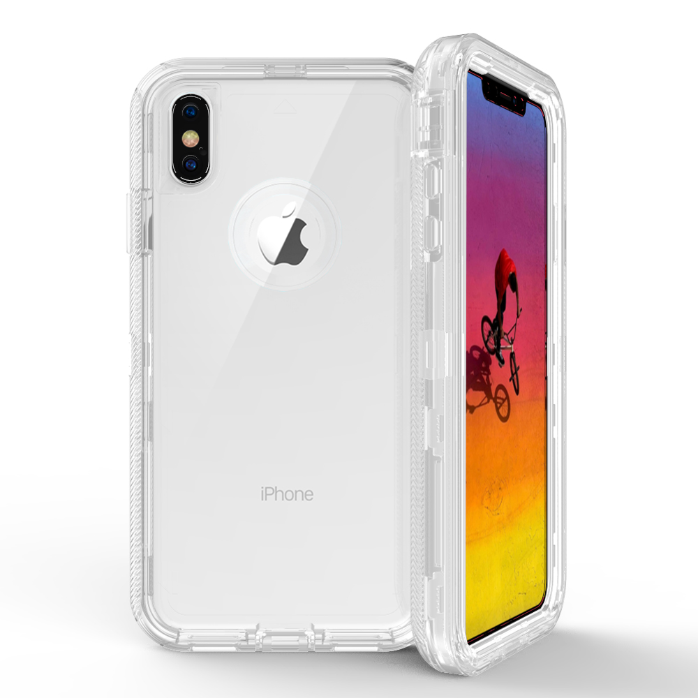 Wholesale Iphone Xr 6 1in Transparent Clear Armor Defender