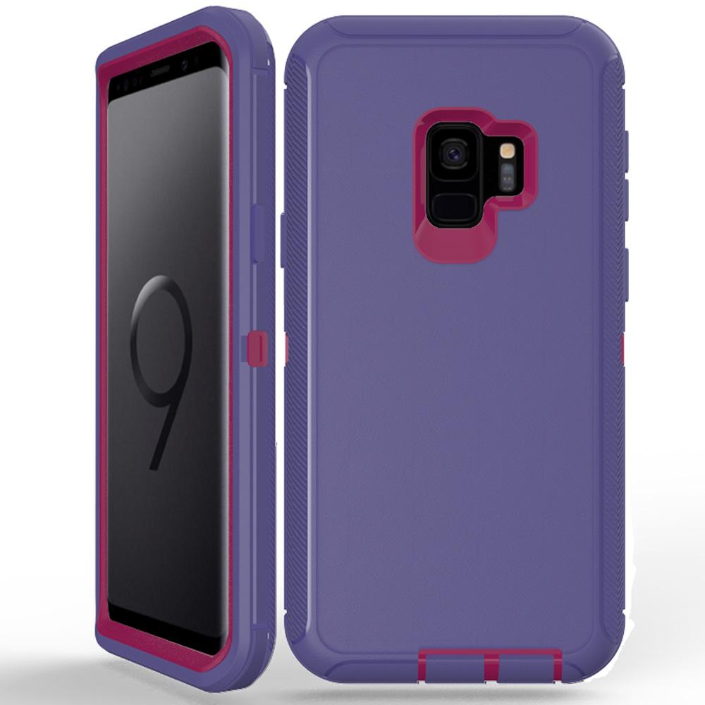 wholesale galaxy s9 plus armor defender case purple. Black Bedroom Furniture Sets. Home Design Ideas