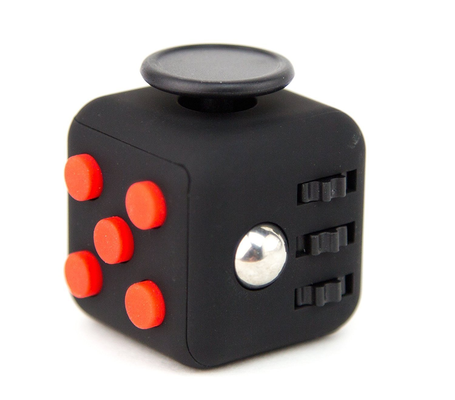 Fidget Cube Relieves Stress and Anxiety for Child, Adult (Black)