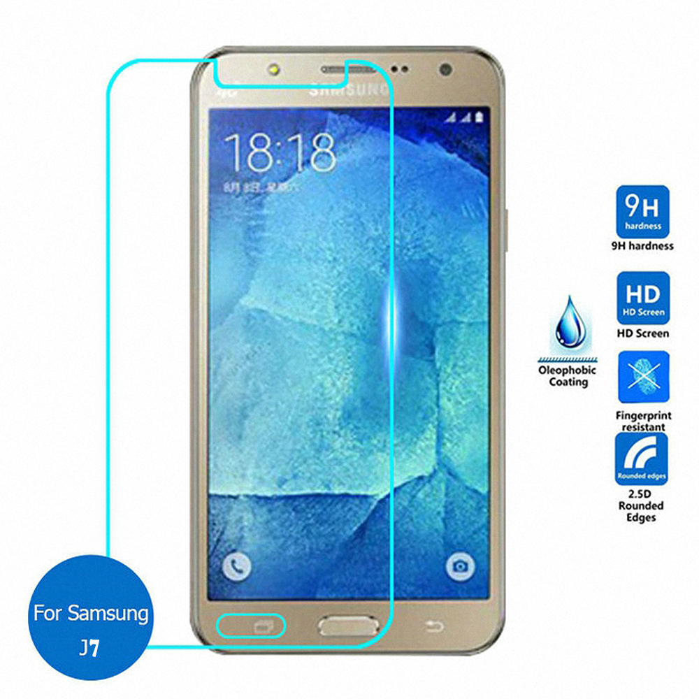 new arrival 692e5 90254 Wholesale Samsung Galaxy J7 Tempered Glass Screen Protector (Glass)